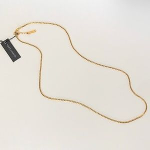 Vince Camuto gold-tone chain necklace